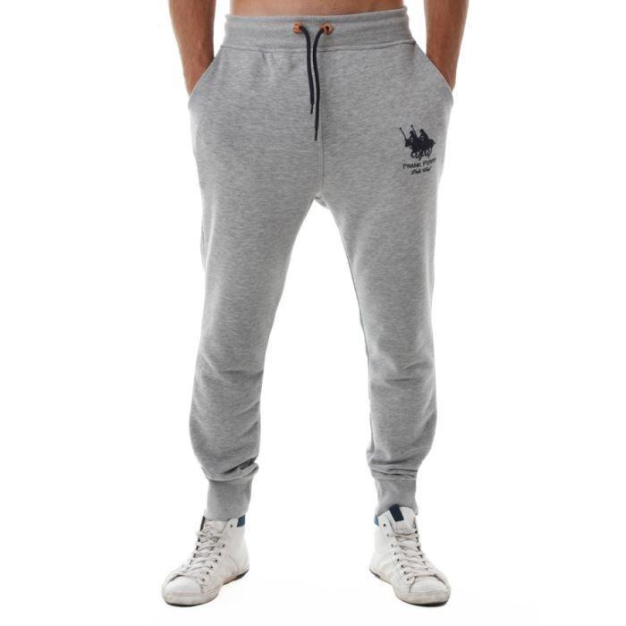 pantalon de sport frank ferry homme ff 70 gris gris. Black Bedroom Furniture Sets. Home Design Ideas