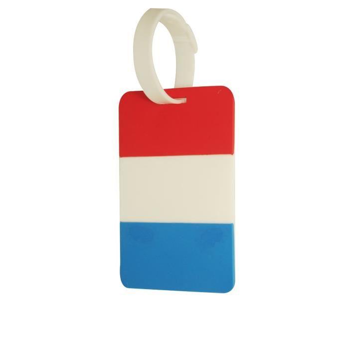 Novago tiquette bagages tiquette valise drapeau for 1 porte etiquette de voyage