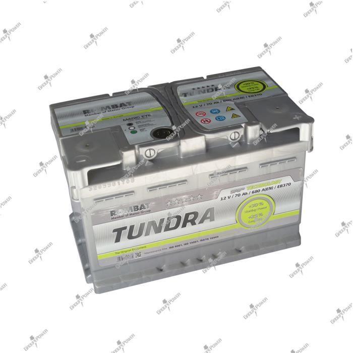 batterie tundra eb370 12v 70ah 680a 278x175x190mm haut de gamme achat vente batterie. Black Bedroom Furniture Sets. Home Design Ideas