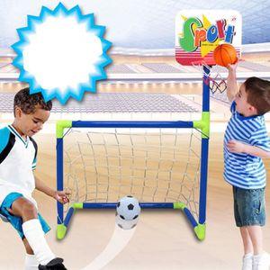 Cages de foot enfant achat vente pas cher cdiscount - Panier de basket amovible ...
