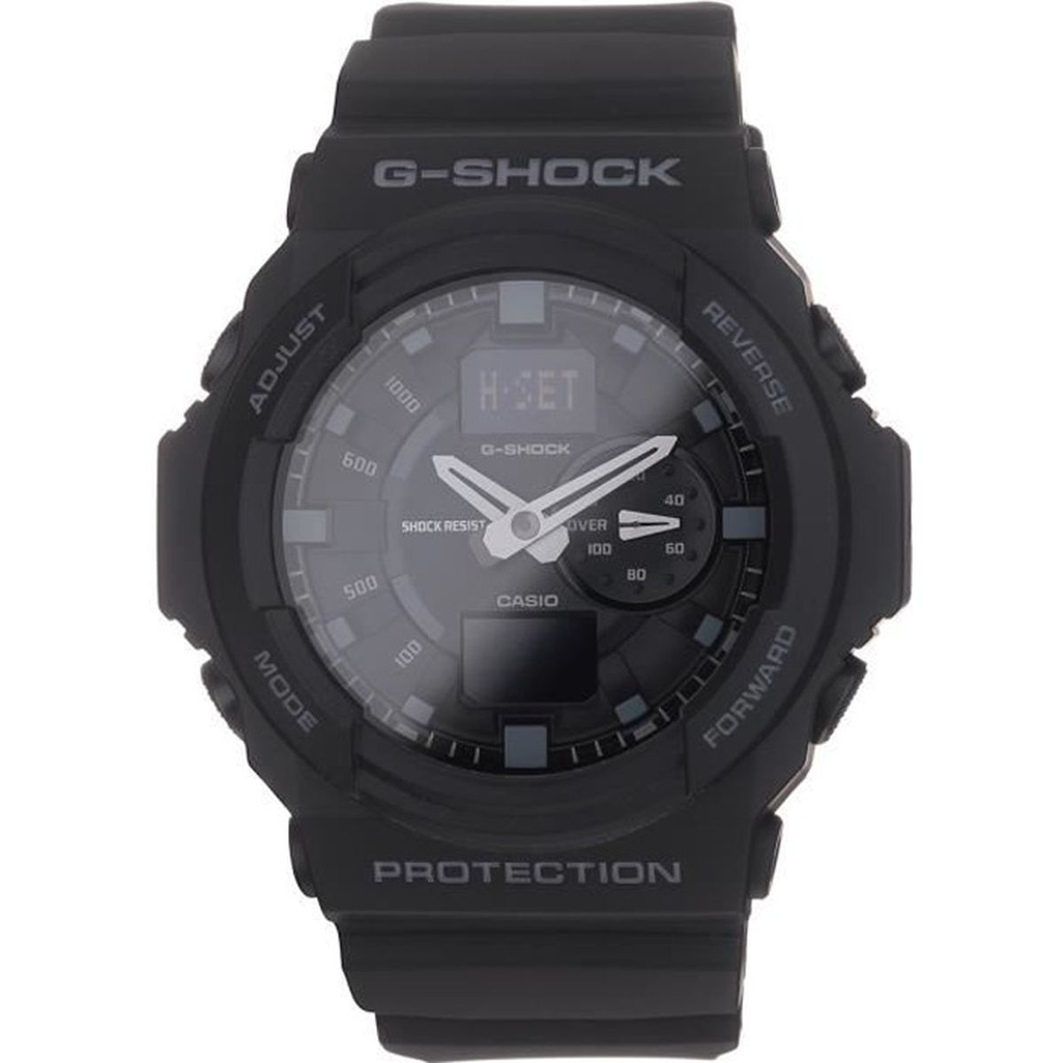 casio montre quartz g shock ga 150 1aer homme noir sport tendance achat vente montre cdiscount. Black Bedroom Furniture Sets. Home Design Ideas