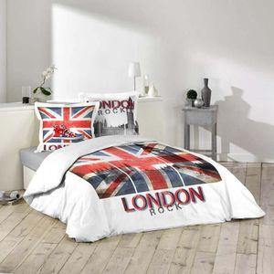 Parure de lit anglais achat vente parure de lit - Housse de couette en anglais ...