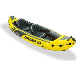 CANOË Intex 68307 Explorer K2 kayak gonflable canoë bate