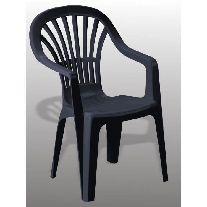 fauteuil de jardin avec accoudoir achat vente fauteuil. Black Bedroom Furniture Sets. Home Design Ideas