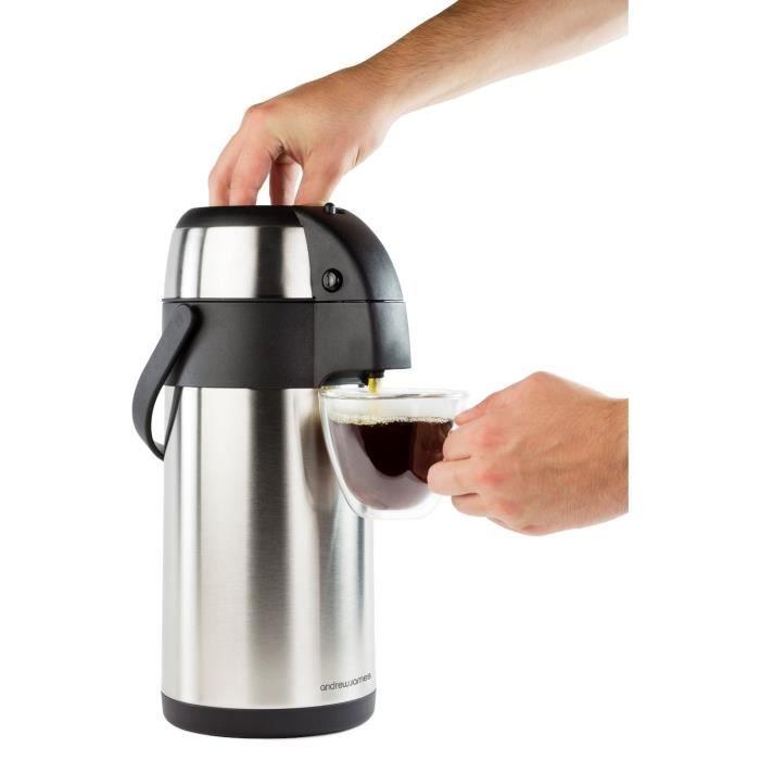 thermos pompe distributeur de boisson 3 litres achat vente bouteille isotherme cdiscount. Black Bedroom Furniture Sets. Home Design Ideas