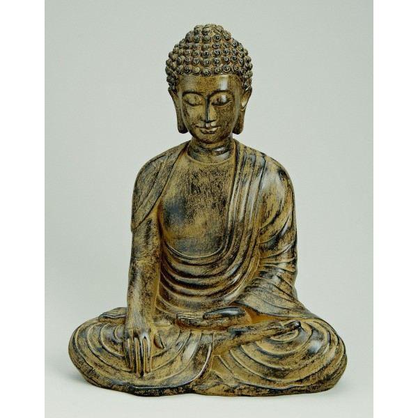 statue bouddha achat vente statue statuette statue bouddha cdiscount. Black Bedroom Furniture Sets. Home Design Ideas
