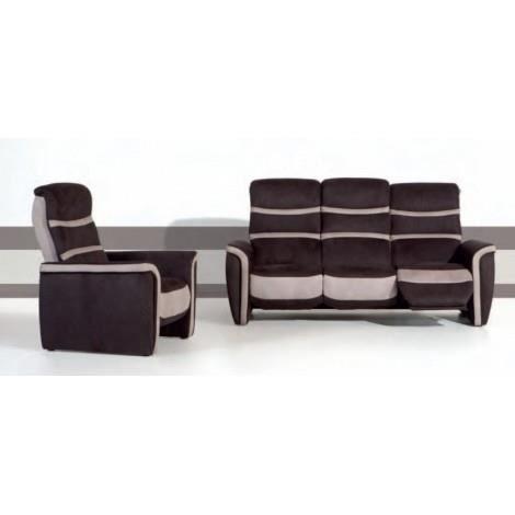 Fauteuil de relaxation s tissu niro avec relax achat vente fauteuil tis - Fauteuil relaxation tissu ...