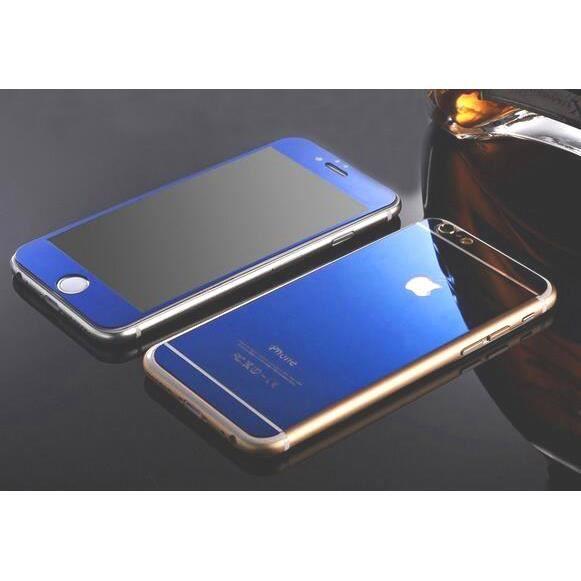 Go4u iphone 5 film protecteur d 39 cran en verre tremp for Ecran en miroir