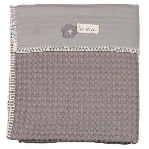 koeka 1015 44 011280 610 couverture lit b b antwerp taupe gris argent achat vente. Black Bedroom Furniture Sets. Home Design Ideas