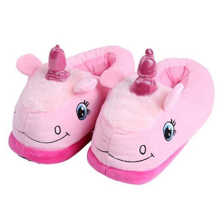pantoufles chaudes pantoufle femme peluche hiver chaud doux pantoufles chaussons chaud. Black Bedroom Furniture Sets. Home Design Ideas