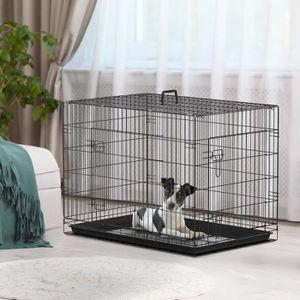 cage a chien exterieur achat vente cage a chien. Black Bedroom Furniture Sets. Home Design Ideas