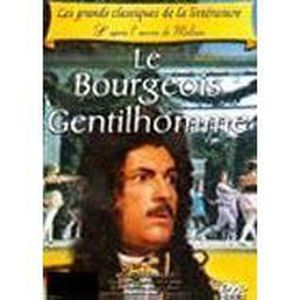 DVD SPECTACLE le bourgeois gentilhomme Pierre Badel