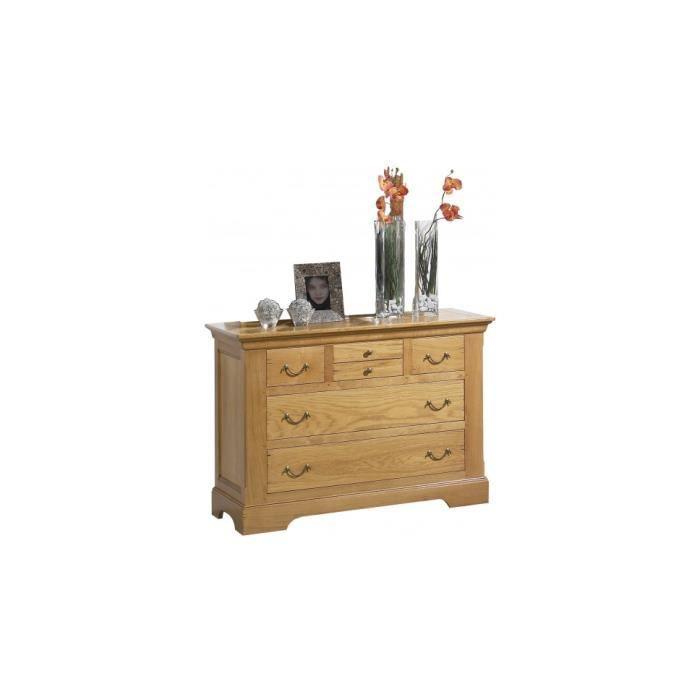 commode ch ne dor 6 tiroirs achat vente commode semainier commode ch ne dor 6 tiroirs. Black Bedroom Furniture Sets. Home Design Ideas