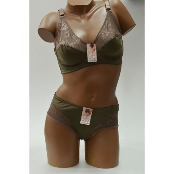 ensemble lingerie grande taille marron achat vente ensemble de lingerie cdiscount. Black Bedroom Furniture Sets. Home Design Ideas