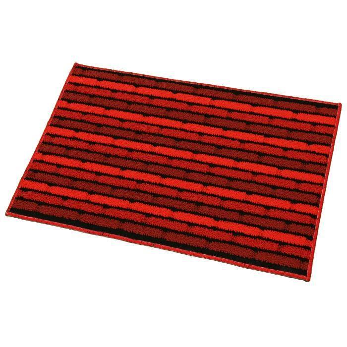 tapis tresse briquette rouge universol achat vente tapis cdiscount. Black Bedroom Furniture Sets. Home Design Ideas