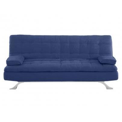 canap clic clac en microfibre miami bleu achat. Black Bedroom Furniture Sets. Home Design Ideas