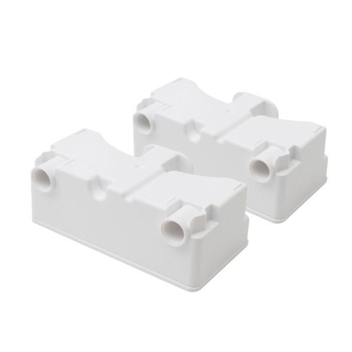lot de 2 cartouches anti calcaire cac1 pour hydrojetv2 blanc achat vente pi ce soin du. Black Bedroom Furniture Sets. Home Design Ideas