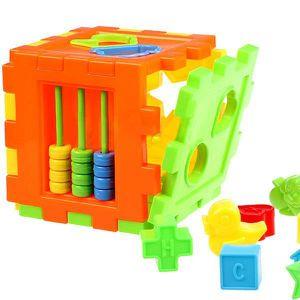 BOÎTE À FORME - GIGOGNE Bébé Coloré Bloquer Rubik's Cube Jouet Educational