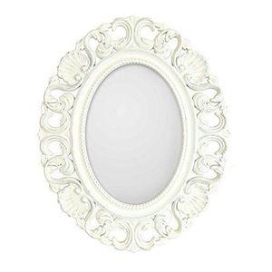 Miroir ovale achat vente miroir ovale pas cher cdiscount for Casa miroir rond