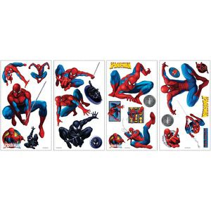 STICKERS Stickers Repositionnables - Spiderman