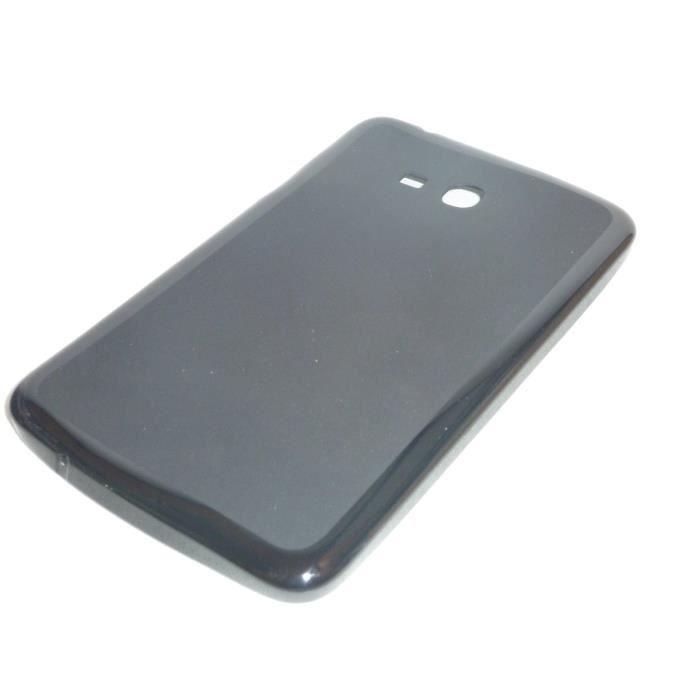 coque silicone samsung galaxy tab 3 lite t110 t111 achat vente coque bumper coque silicone. Black Bedroom Furniture Sets. Home Design Ideas