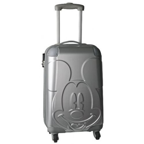 valise coque mickey relief argent achat vente valise. Black Bedroom Furniture Sets. Home Design Ideas