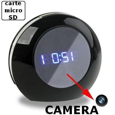 pin camera espion radio reveil enregistreur absecuricam on pinterest. Black Bedroom Furniture Sets. Home Design Ideas