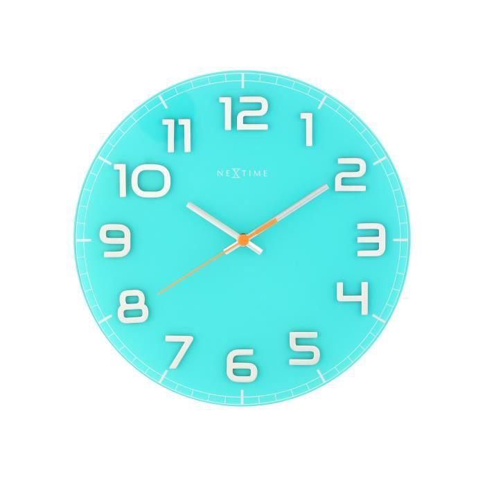 Preview - Horloge orium led bleue ...
