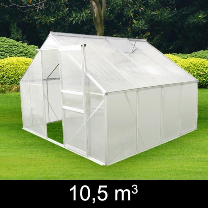 Serre de jardin en aluminium et polycarbonate achat - Serre de jardin en aluminium et polycarbonate ...