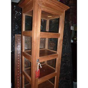 etageres en teck achat vente etageres en teck pas cher. Black Bedroom Furniture Sets. Home Design Ideas