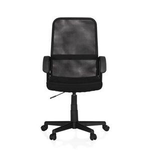 Petit fauteuil noir prix pas cher soldes cdiscount - Petit fauteuil de bureau ...