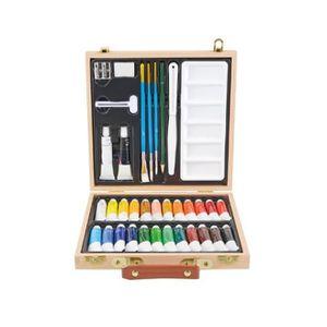 kit peinture acrylique pour bois achat vente kit peinture acrylique pour bois pas cher. Black Bedroom Furniture Sets. Home Design Ideas