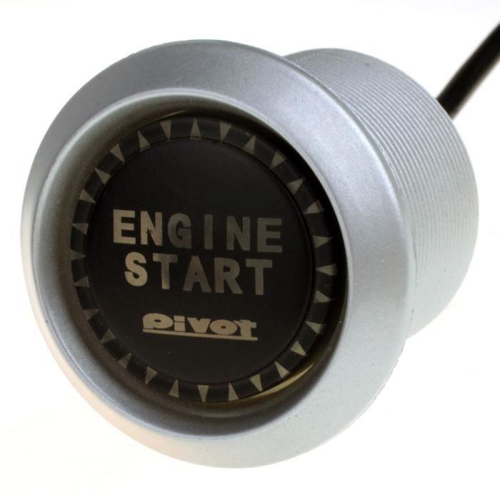 Interrupteur commutateur bouton poussoir d marrage cl pour voiture moto led rouge achat - Bouton poussoir interrupteur ...