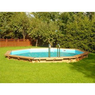 Kit piscine bois oxygen orion ronde 3 8 achat vente kit piscine kit pis - Piscine bois discount destockage ...