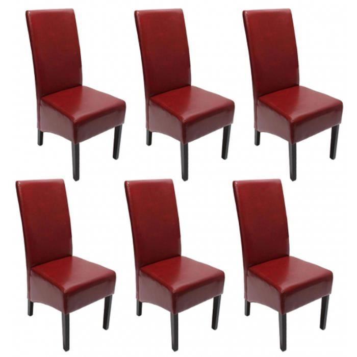 Lot de 6 chaises de salle manger fauteuil si achat for Lot de 6 chaises de salle a manger