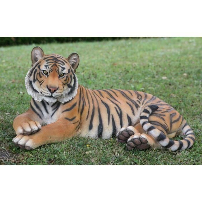 animaux decoratif riviera tigre couche achat vente. Black Bedroom Furniture Sets. Home Design Ideas