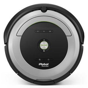 iROBOT Roomba 680 - Aspirateur robot - 33W - 61 dB - Gris