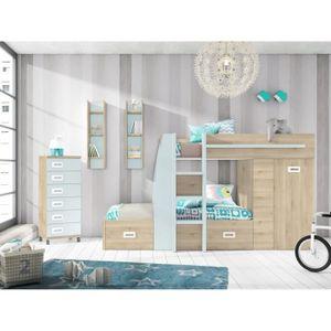 lit superpose angle achat vente lit superpose angle. Black Bedroom Furniture Sets. Home Design Ideas