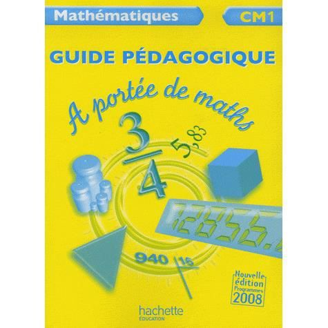 Math matiques cm1 a port e de maths achat vente livre for A portee de maths cm1
