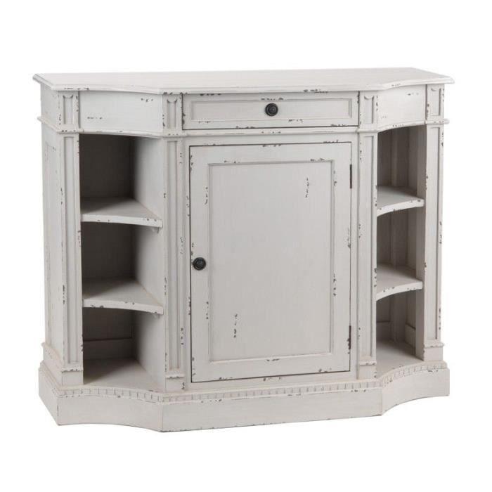 buffet gris jolie marquise achat vente buffet bahut buffet gris jolie marquise cdiscount. Black Bedroom Furniture Sets. Home Design Ideas