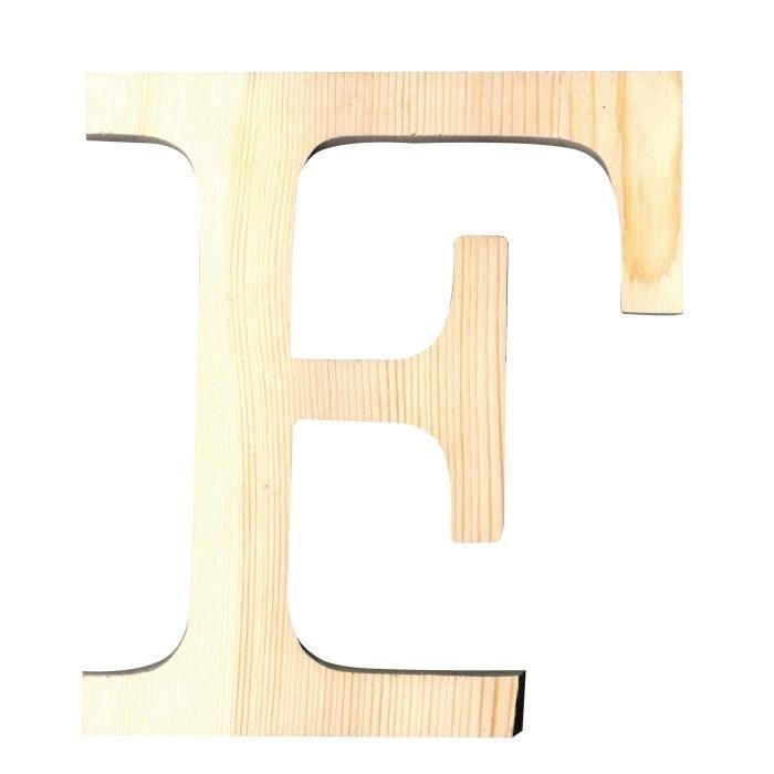 artemio lettre f en bois d coup 19 cm achat vente support d corer lettre f hauteur 19. Black Bedroom Furniture Sets. Home Design Ideas