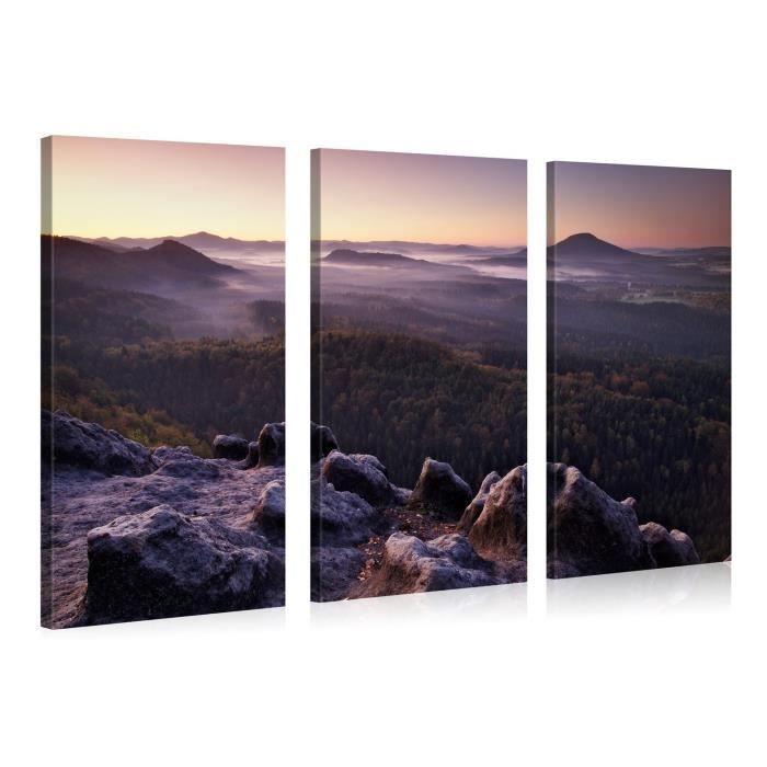Tableau moderne imprim 130x80 paysage achat vente tableau toile cd - Tableau moderne discount ...