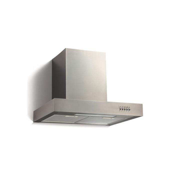 hotte chemin e aspirante acier inox 2001016 achat vente hotte hotte chemin e aspirante ac. Black Bedroom Furniture Sets. Home Design Ideas