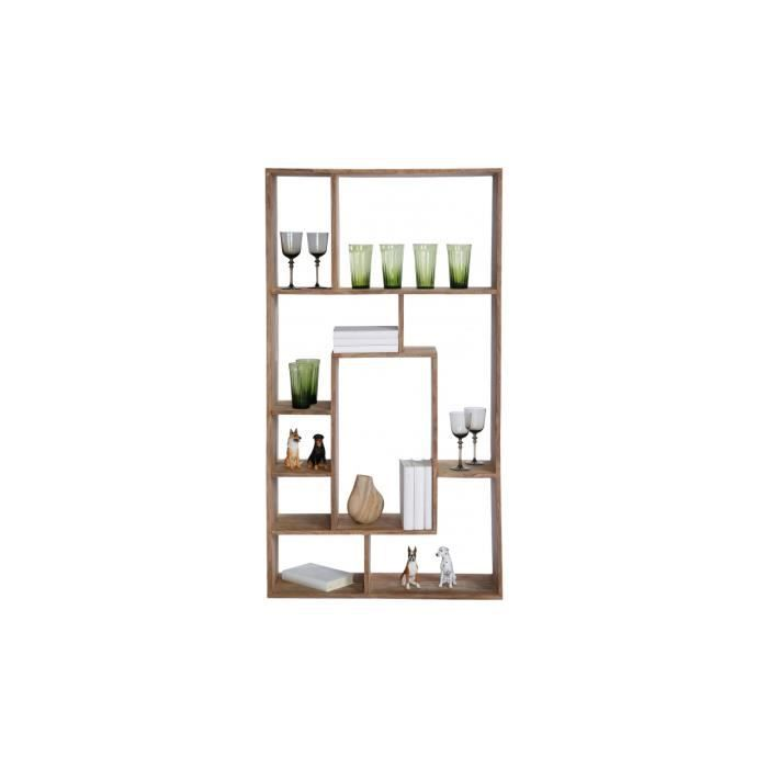Bibliotheque authentico multitask 150 kare design achat for Bibliotheque separation piece