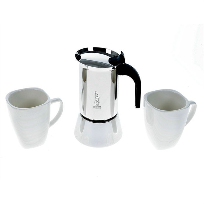bialetti set cafeti re italienne traditionnelle achat. Black Bedroom Furniture Sets. Home Design Ideas