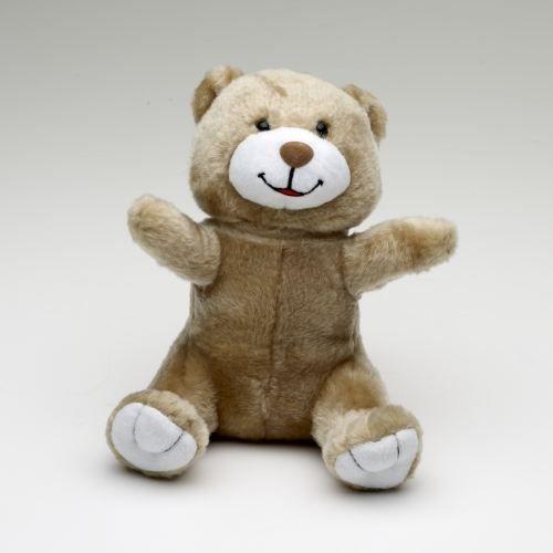 ours en peluche brun beige 21 cm assis achat vente peluche peluche cdiscount. Black Bedroom Furniture Sets. Home Design Ideas