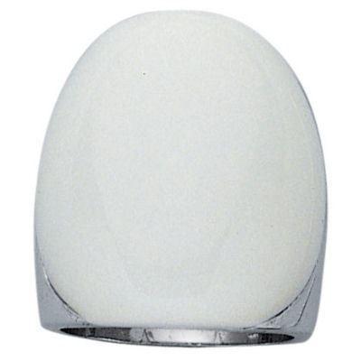 bague anneau verre blanc opaque argent achat vente bague chevaliere bague anneau verre. Black Bedroom Furniture Sets. Home Design Ideas