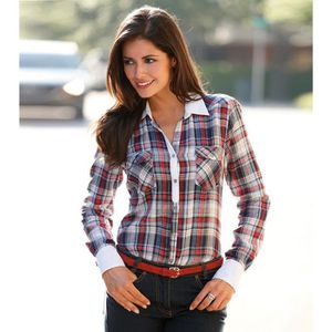 chemise carreaux femme achat vente chemise carreaux femme pas cher cdiscount. Black Bedroom Furniture Sets. Home Design Ideas