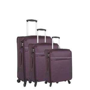 SET DE VALISES Set de 3 valises 4 roues ultra-lite II violet