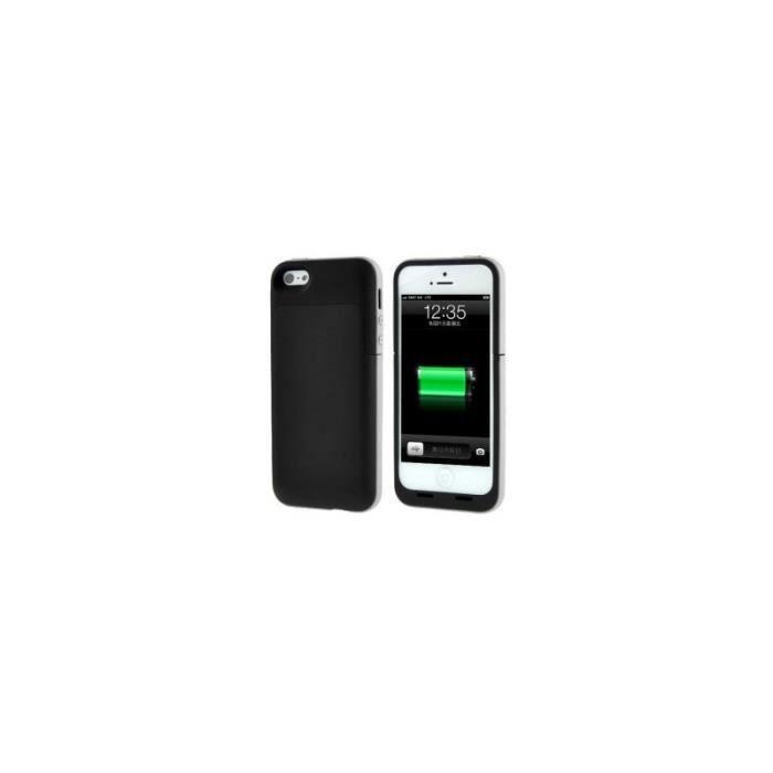coque batterie 4200mah pour iphone 5 5s 5c 6 et 6. Black Bedroom Furniture Sets. Home Design Ideas